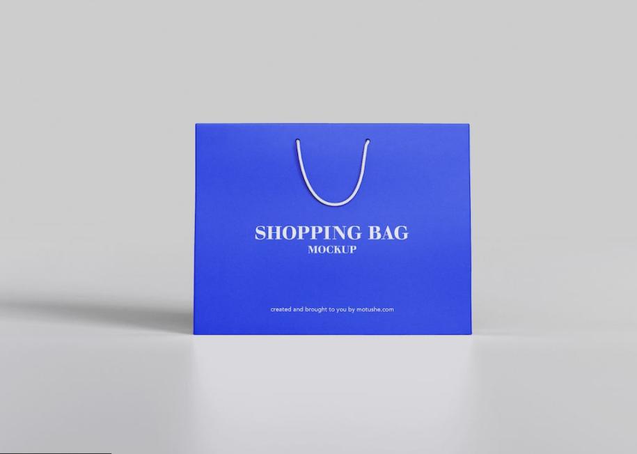 商场购物手提袋样机贴图素材下载Shopping Bag Mockup