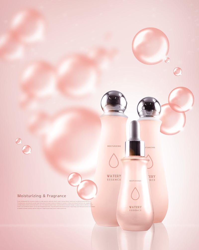 护肤品保养品化妆品海报PSD素材2-904-8