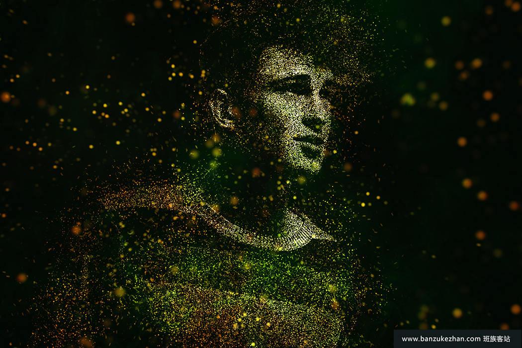 PS动作-抽象闪亮艺术照片-Shine CS6+ Photoshop Action