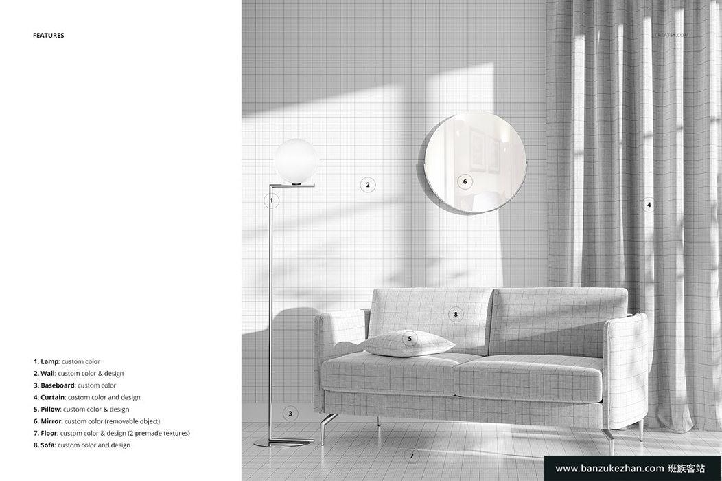 室内场景样机(21 / FFv.10)-Interior_Scene_FF_v.10__part_21_