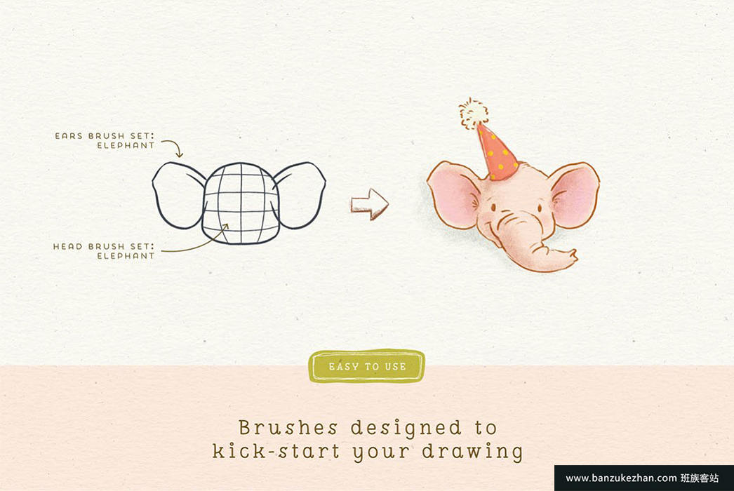 Procreate角色绘图工具包-Procreate_People_Drawing_Toolkit