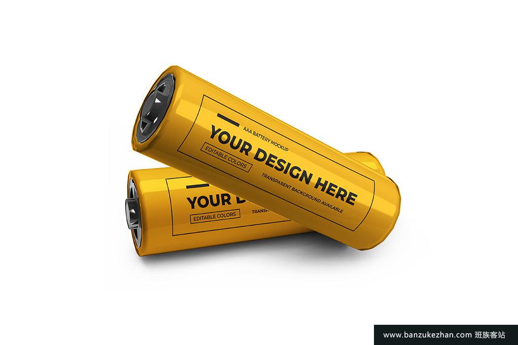小型aa电池模型-Small_AA_battery_mockup