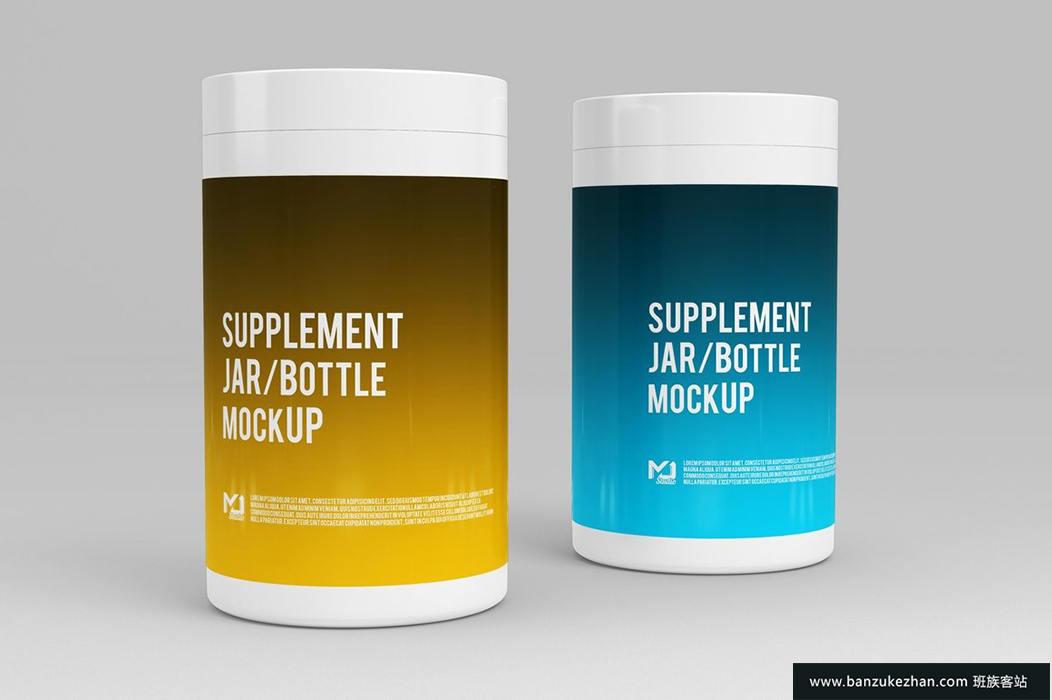 补充罐子/奶瓶模型3-Supplement-Jar—Bottle-Mock-Up-3