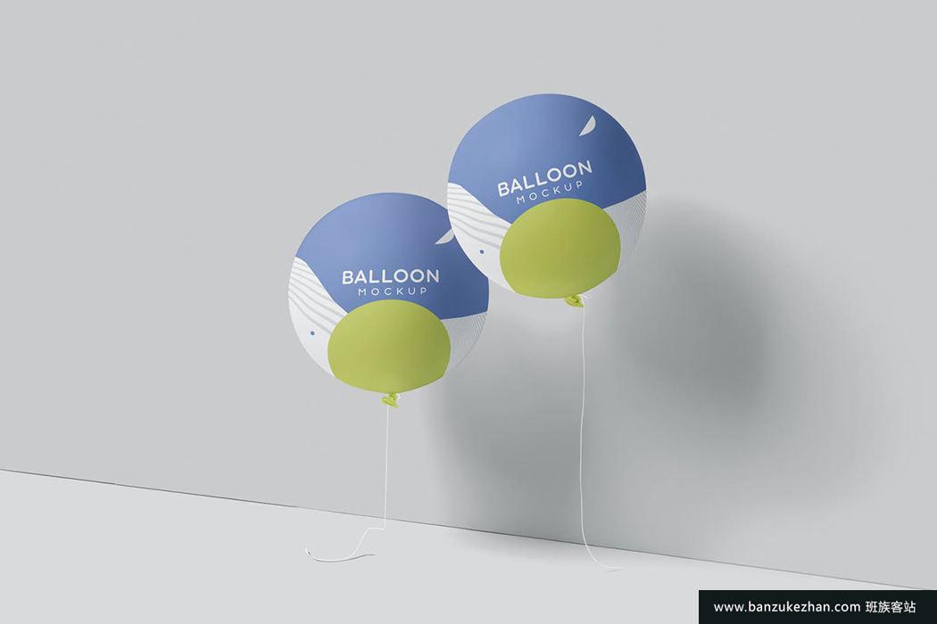 气球样机-balloon-mockups