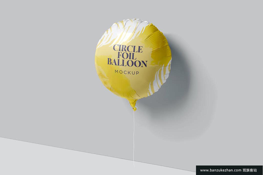 圆铝箔气球样机-circle-foil-balloon-mockups