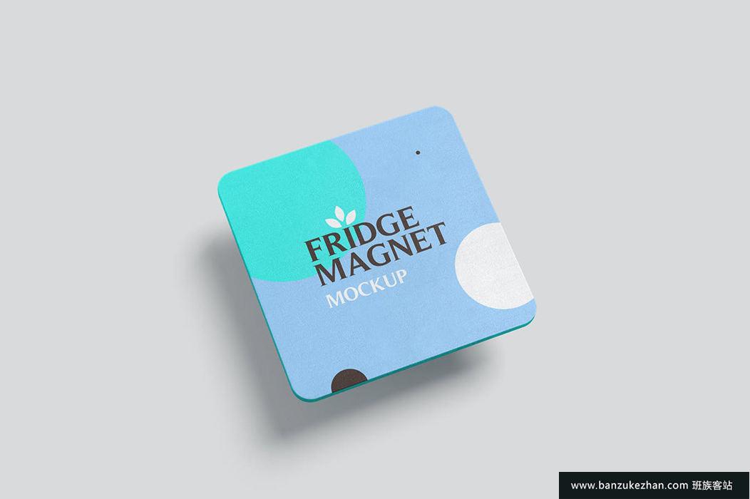 方形冰箱磁铁样机-square-shape-fridge-magnet-mockups