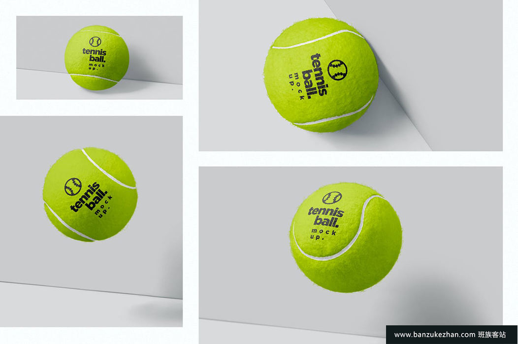 网球样机-tennis-ball-mockups