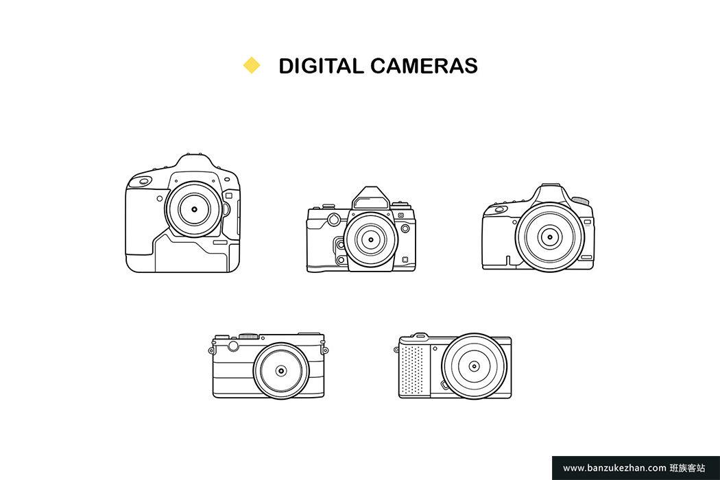 20个应用数码设备图标-20 Gadget Icons