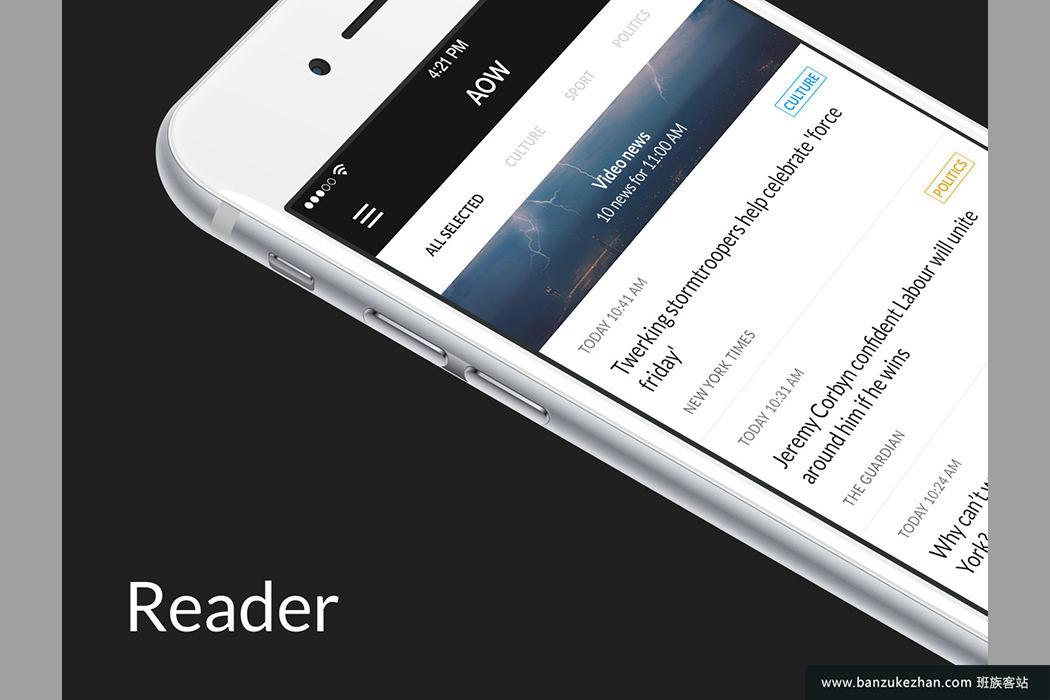 145+OS屏幕阅读走查菜单电子商务注册/注册档案和社交 AOW UI Kit