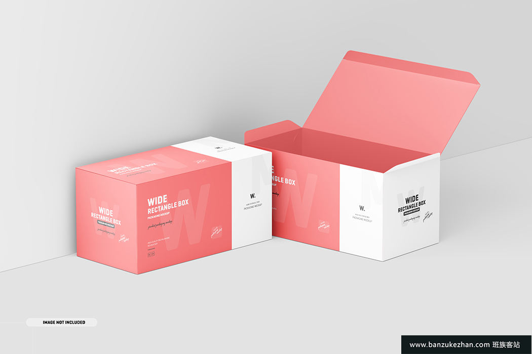 宽矩形包装盒模型-Wide_rectangle_box_mockup