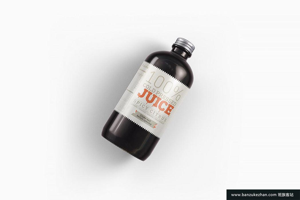 逼真塑料金属圆瓶模型-Plastic_Metal_Round_Bottles_Mockup