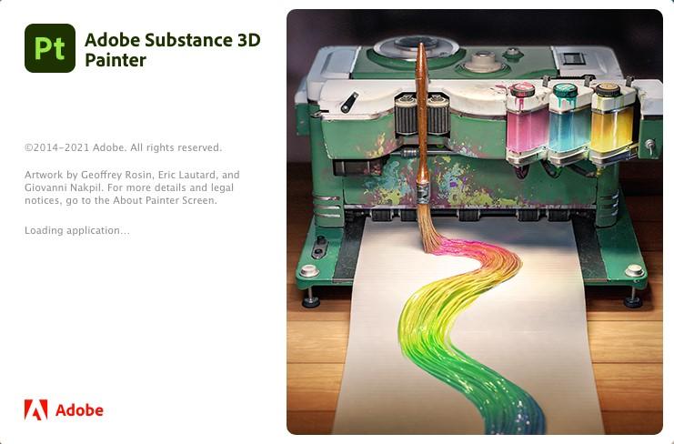 Pt 2021 Win中文破解版全新来袭更强Adobe Substance_3D_Painter_7.2.1 SP-班族客站